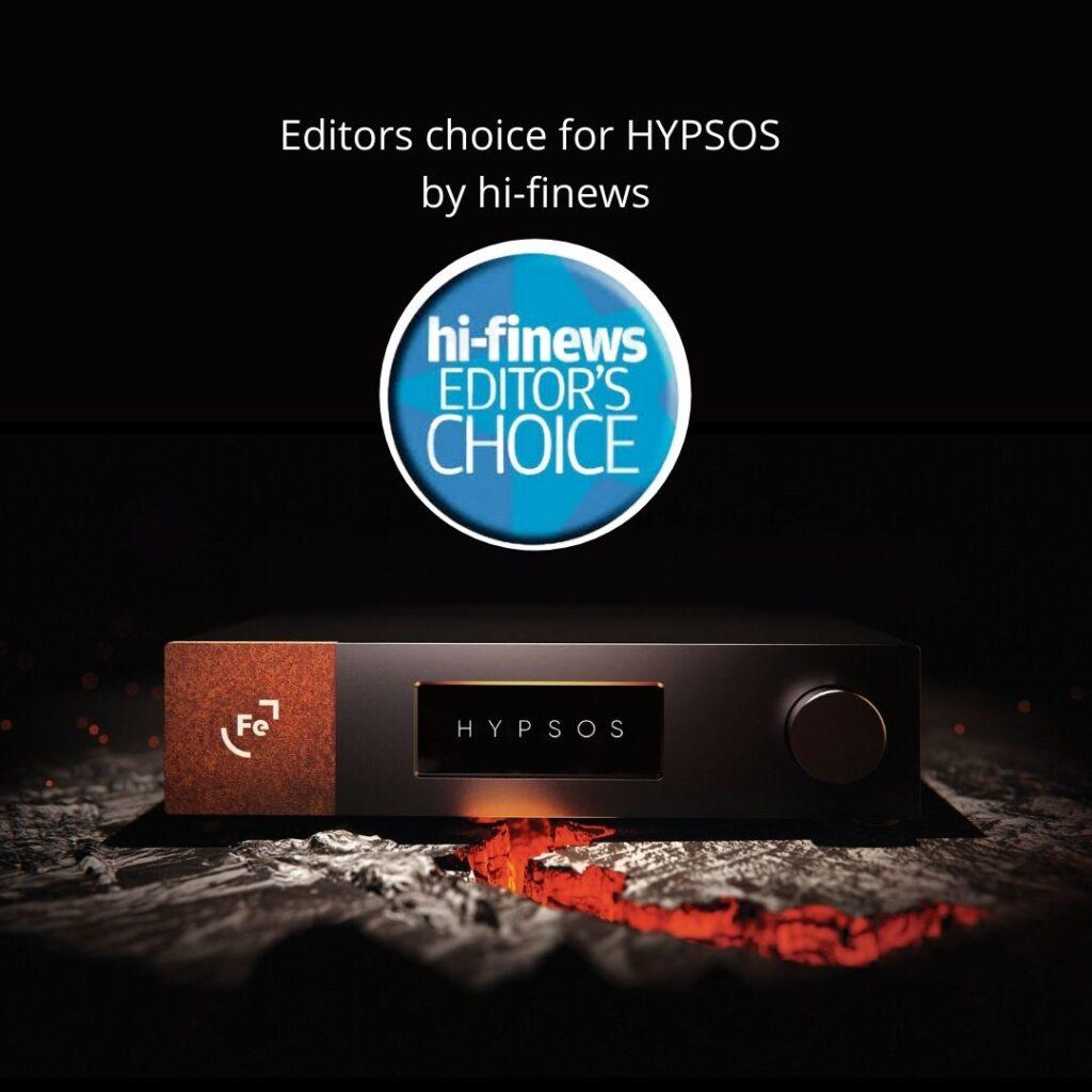 Editors choice for HYPSOS by hi-finews